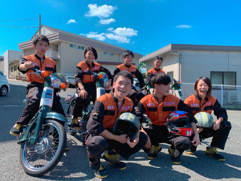 九州・中国・四国地区で唯一のバイク専門コースで 「バイクの専門家」を目指します。